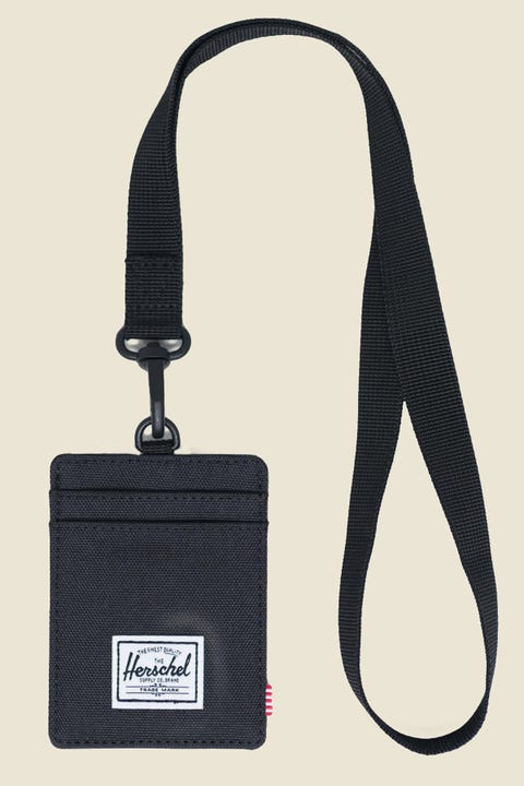 HERSCHEL SUPPLY CO. Charlie Lanyard Black