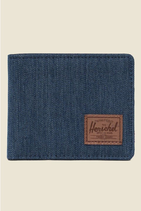 Herschel Supply Co. Roy Indigo Denim Crosshatch/Saddle
