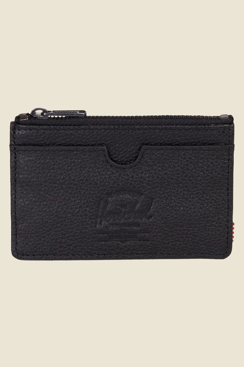 HERSCHEL SUPPLY CO. Oscar Leather Black