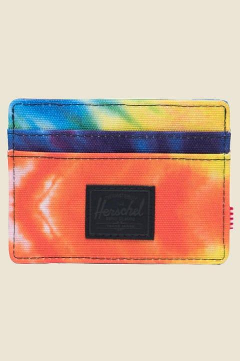 HERSCHEL SUPPLY CO. Charlie Rainbow Tie Dye
