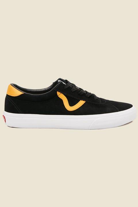 VANS Mens Sport Black/Cadmium Yellow