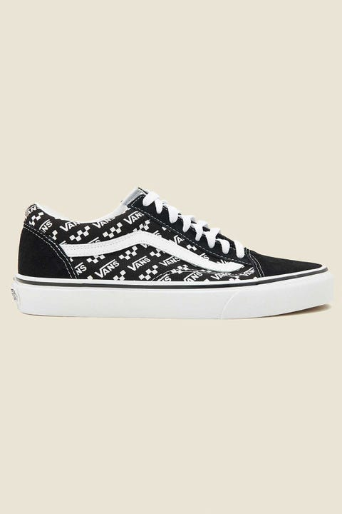 VANS Old Skool Logo Repeat Black