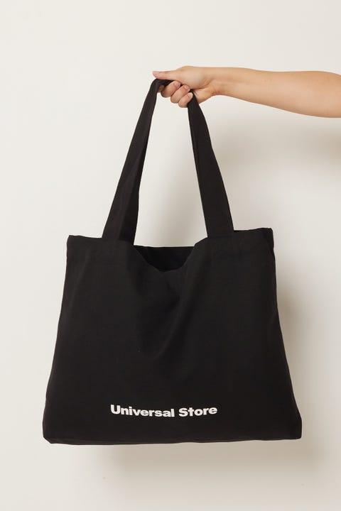 UNIVERSAL STORE Reusable Tote Bag Black