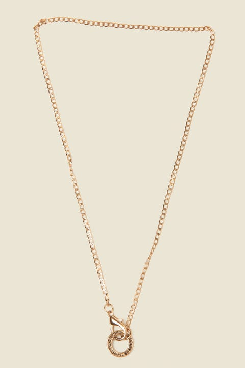 ICON BRAND Flat Out Chain Necklace Antique Gold