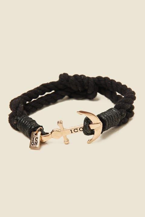 ICON BRAND Captain Flint Bracelet Grey/Black