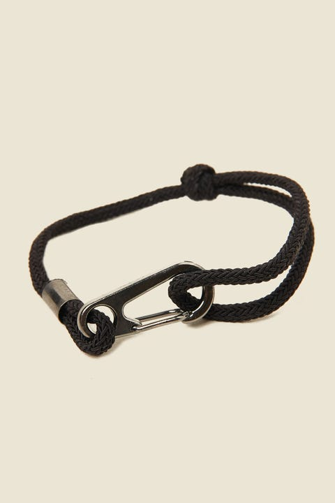 ICON BRAND Hinder Cord Bracelet Black