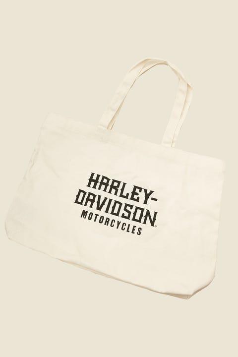HARLEY-DAVIDSON Tote Bag White