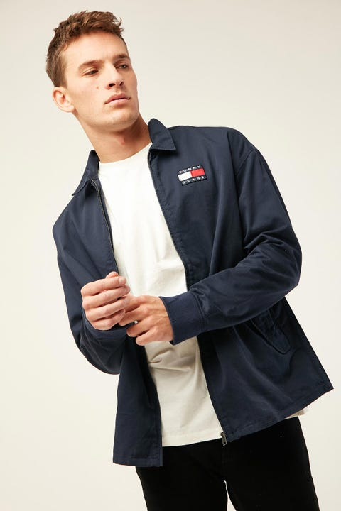 TOMMY JEANS TJM Casual Cotton Jacket Twilight Navy