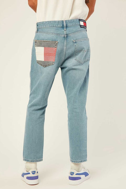 TOMMY JEANS Dad Jean Straight TMYFLG Tommy Flag LT BL RIG