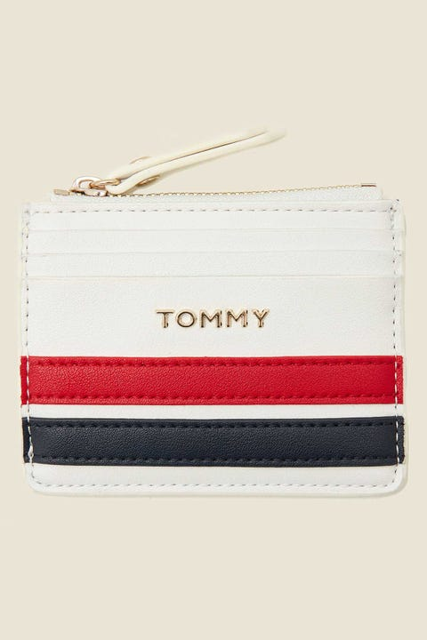 TOMMY JEANS Staple Card Holder Bright White