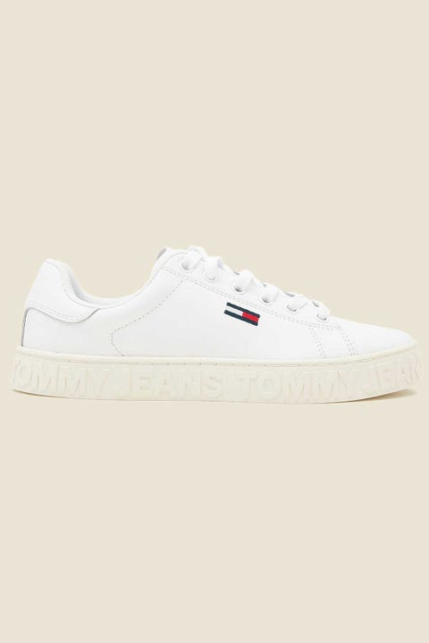 Tommy Jeans Womens Cool TJ Sneaker White