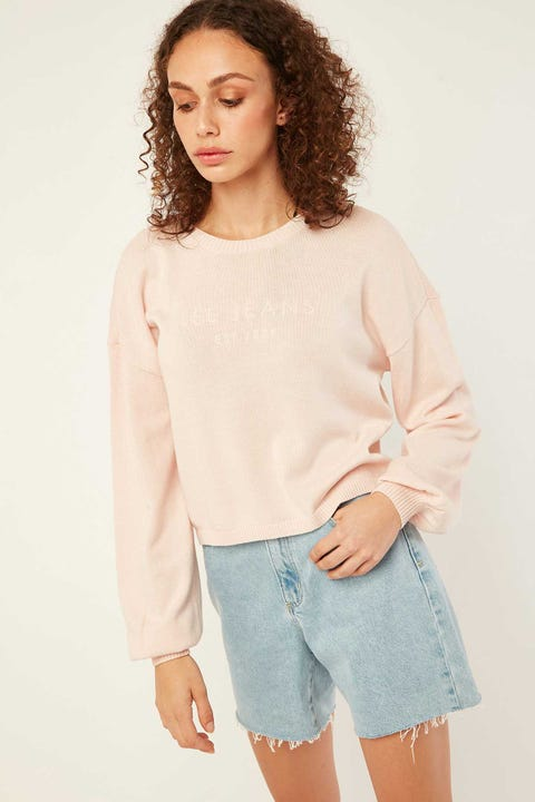 LEE Crop Knit Rose