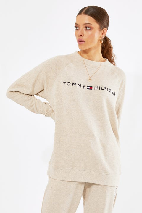 Tommy Jeans Original Track Top Oatmeal Heather