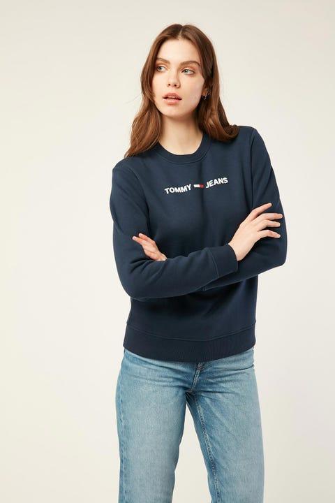 Tommy Jeans Essential Logo Sweatshirt Twilight Navy