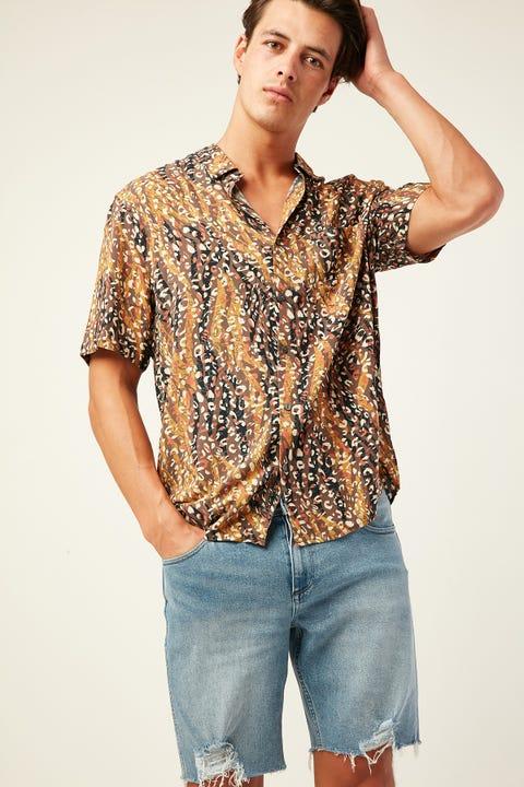 Wrangler Garageland Shirt Animal Instinct