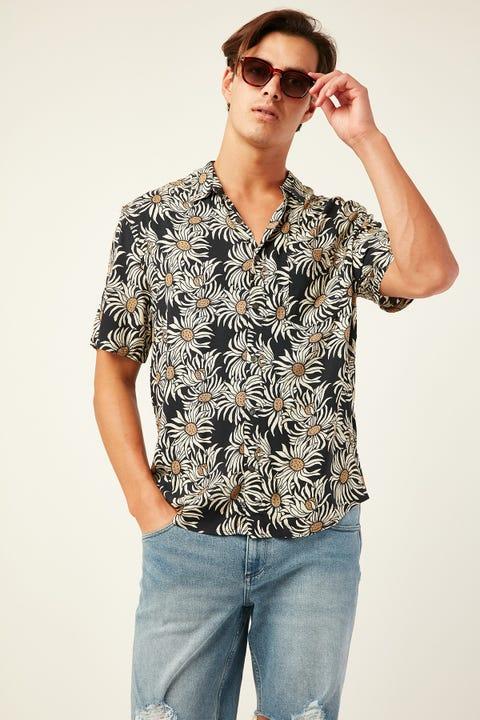 WRANGLER Garageland Shirt Roadside Floral