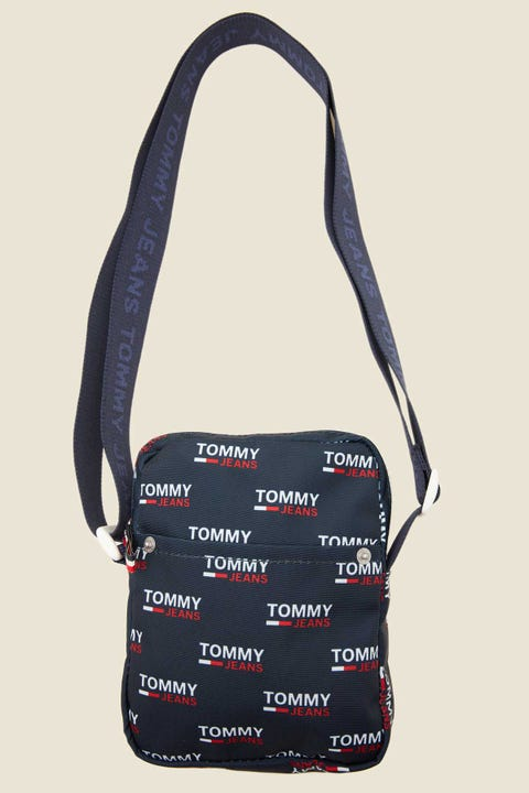 Tommy Jeans Cool City Mini Reporter Blue Print
