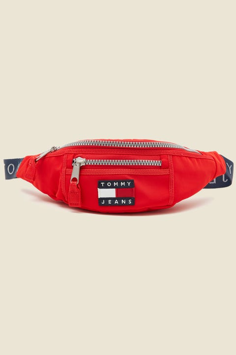 TOMMY JEANS Heritage Bumbag Racing Red