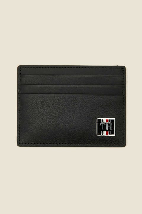 TOMMY JEANS Solid CC Wallet Black