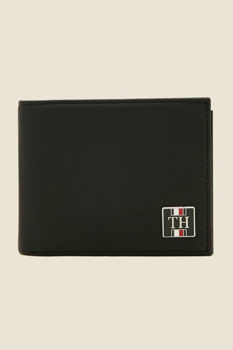 TOMMY JEANS Solid Mini CC Wallet Black
