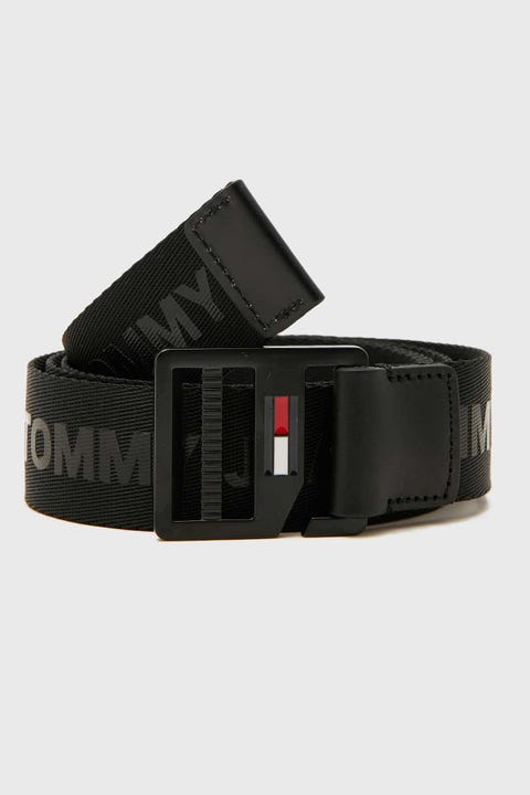 Tommy Jeans D-Ring Belt Black