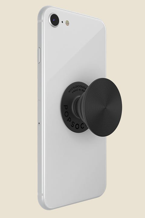 Popsockets PopGrip Twist Aluminum Black