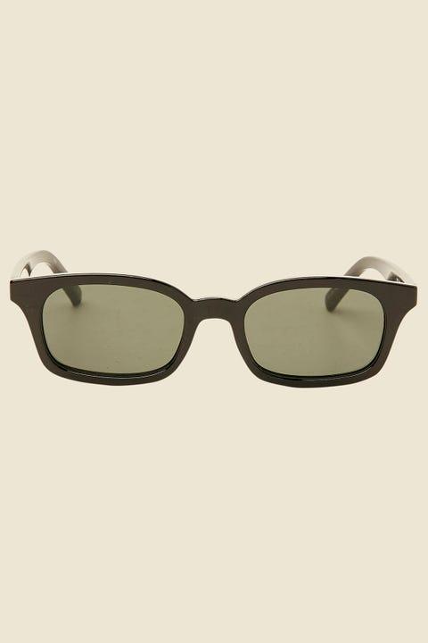 Le Specs Carmito Black/Green Mono