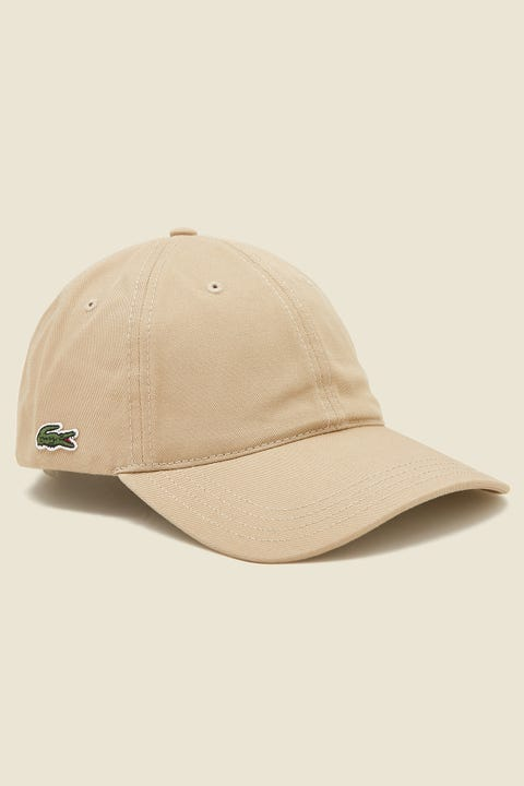 LACOSTE Basic Side Croc Cotton Cap Viennese