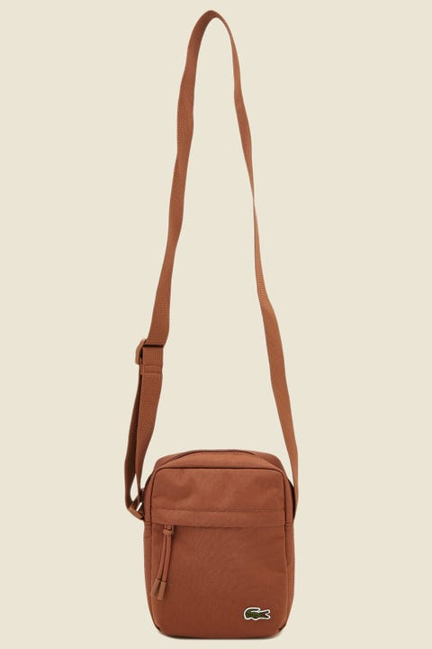 LACOSTE Neocroc Vertical Camera Bag Otter