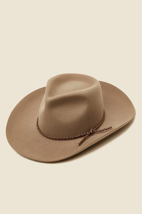 BRIXTON Jenkins Cowboy Hat Dark Khaki