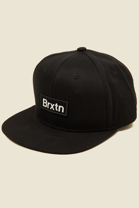 BRIXTON Gate III Snapback Black
