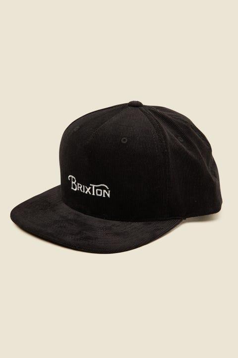 BRIXTON Wheelie II MP Snapback Black