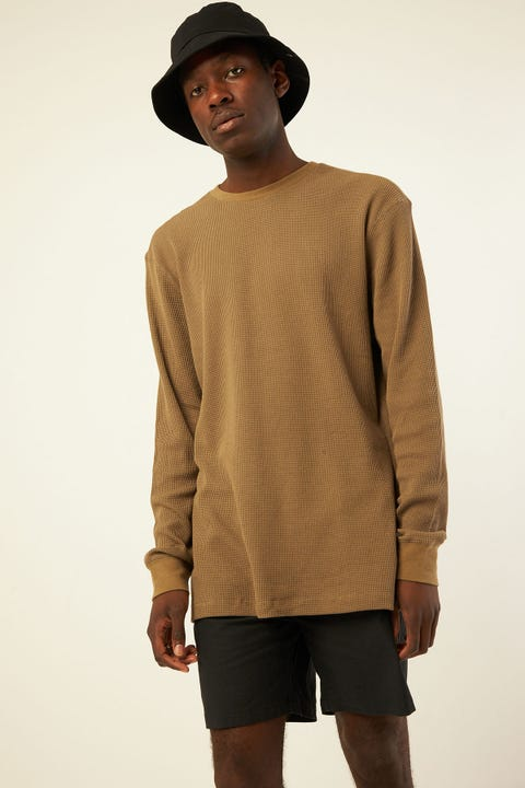 Common Need Comfort Longsleeve Tee Olive Green