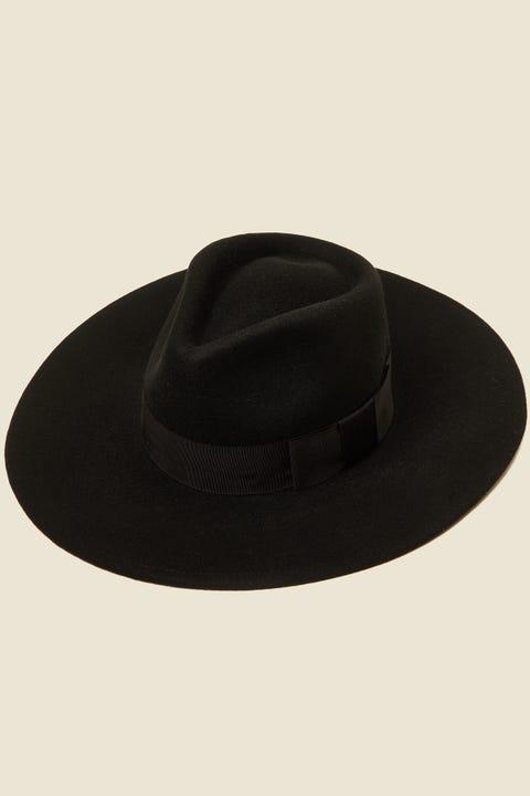 BRIXTON Joanna Felt Hat Black