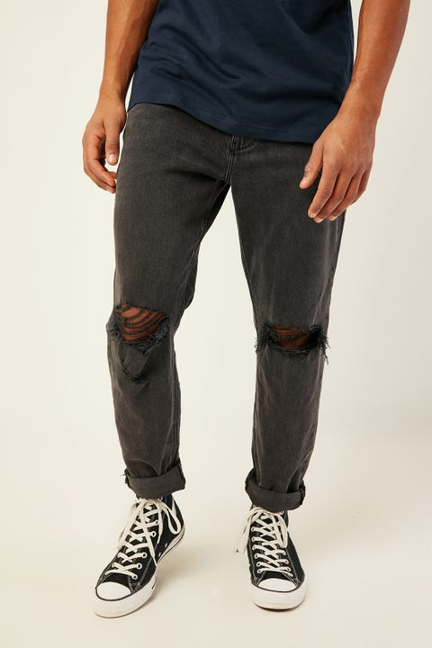 Abrand 88 Taper Jean New Order Black