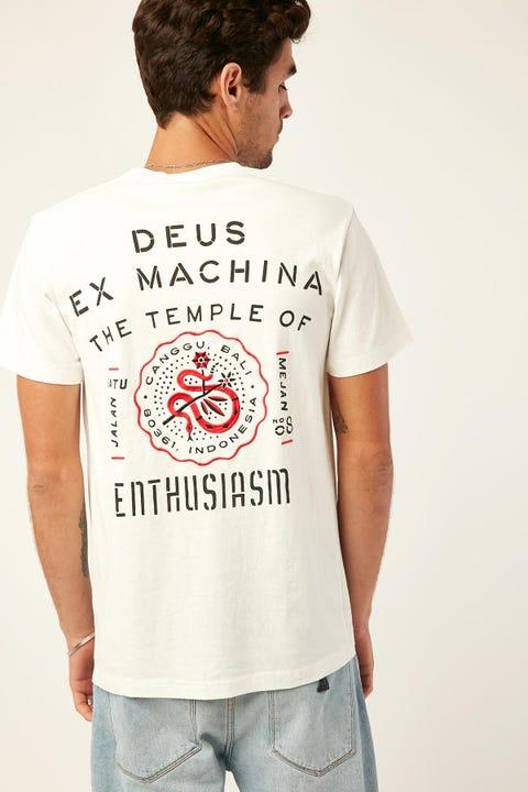 DEUS EX MACHINA Canggu Address Tee Dirty White