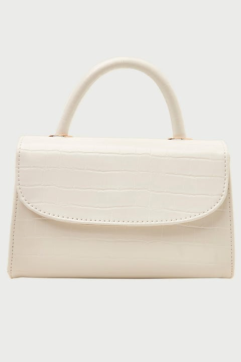 Token Dress Me Up Croc Handbag White
