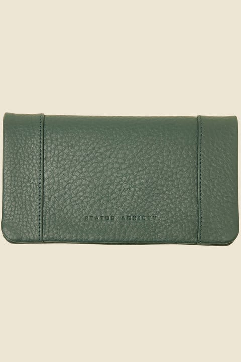 Status Anxiety Some Type of Love Wallet Teal Teal