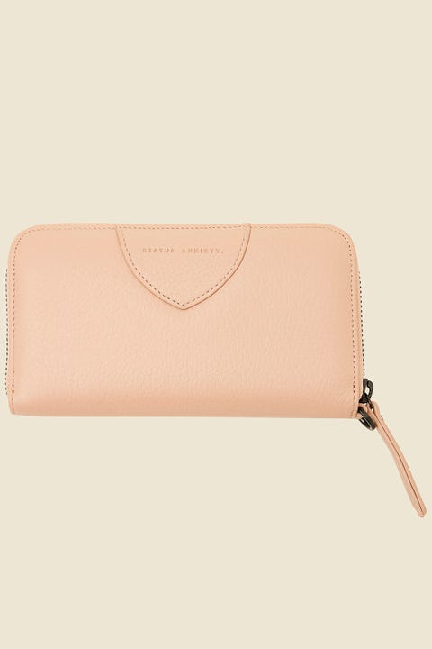 Status Anxiety Moving On Wallet Dusty Pink