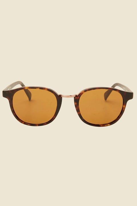 Otis Eyewear A Day Late Matte Dark Tort/Brown