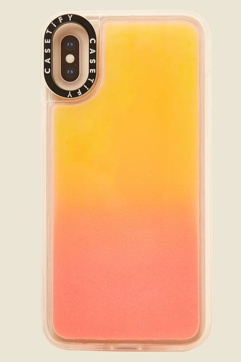 Casetify iPhone X/XS Neon Sand Case Flame