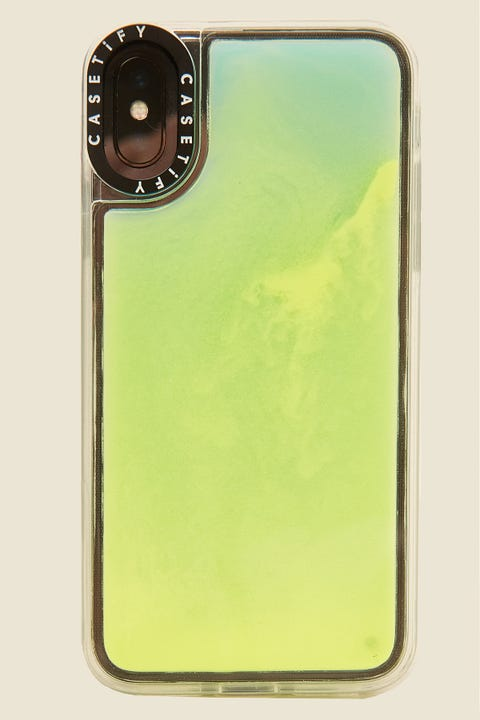 Casetify iPhone X/XS Neon Sand Case Exxxtra