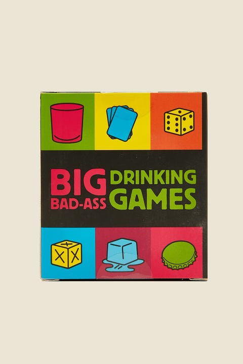 Big Bad-Ass Drinking Games Mini Kit