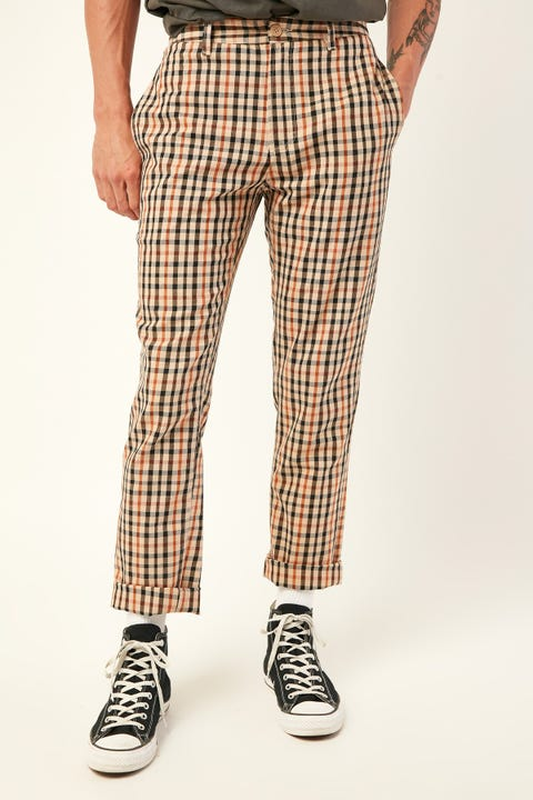 BARNEY COOLS B.Relaxed Chino Beige Check