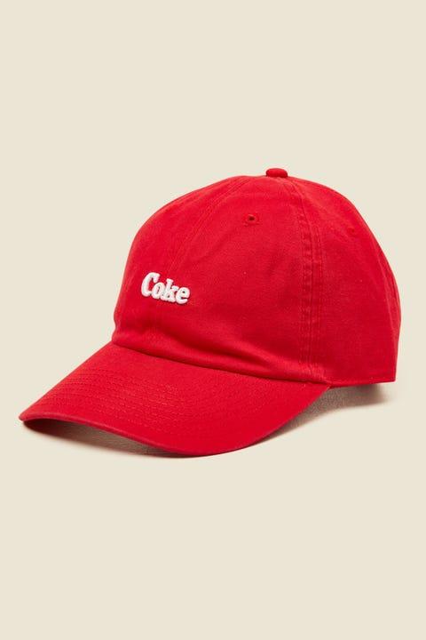 AMERICAN NEEDLE Coca Cola Micro Slouch Coke Cap Red