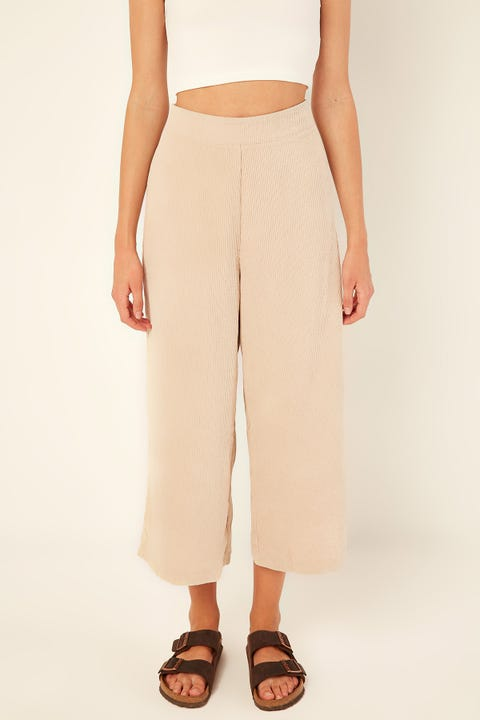 PERFECT STRANGER Off Duty Cord Pant Oatmeal