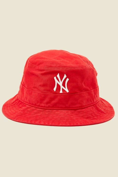 47 Brand Bucket Hat NY Yankees Red