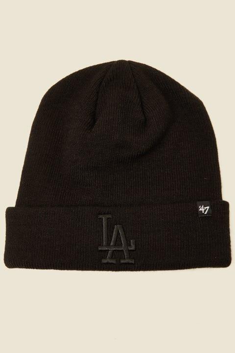 47 Brand Cuff Knit LA Dodgers Black/Black