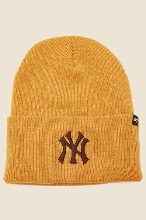 47 Brand Haymaker Beanie NY Yankees Wheat