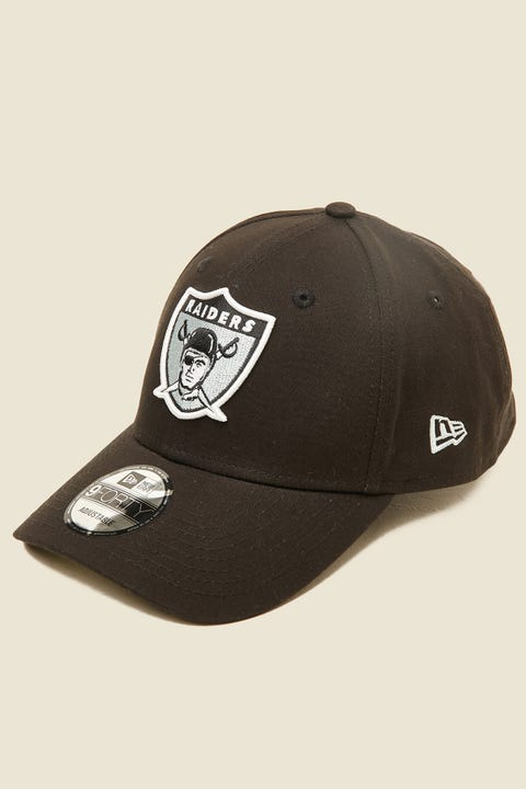 New Era 9Forty Oakland Raiders Clothstrap Black